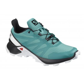 Zapatillas trail running Salomon SuperCross W verde mujer