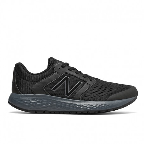 chancla new balance negra
