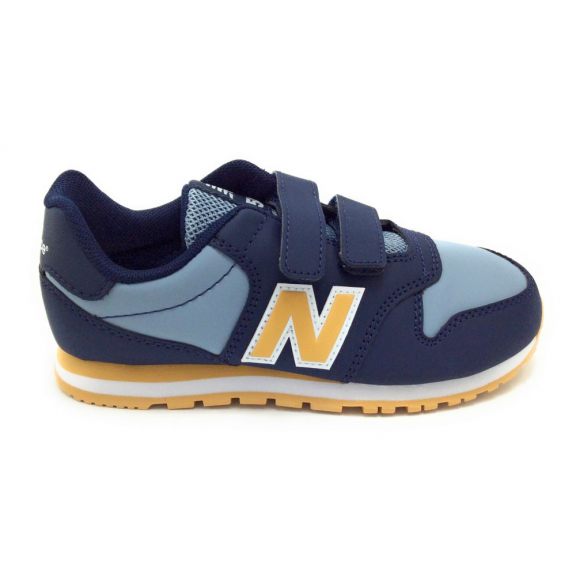 new balance azules niño