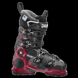 Botas esquí Dalbello Ds 90 W negro meta rojo  mujer