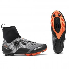Zapatillas Northwave Raptor Gtx reflectante-naranja