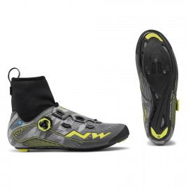 Zapatillas Northwave Flash Arctic Gtx reflectante-amarilla