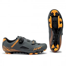 Zapatillas Northwave Origin Plus antracita-naranja MTB-XC