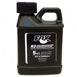 Aceite Fox FLuid R3 5WT Iso 250ml o 8.5oz 025-06-006