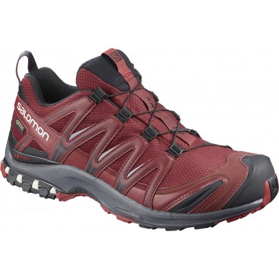 Zapatillas trail running Salomon Xa Pro 3D GTX granat hombre