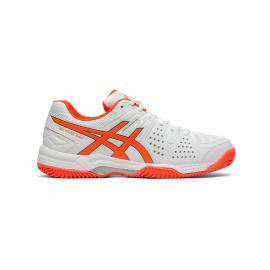 Zapatillas pádel Asics Gel-Padel Pro 3 SG blanco/naranja