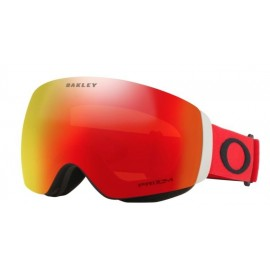 Mascara esquí Oakley Flight Deck Xm rojo negro prizm torch