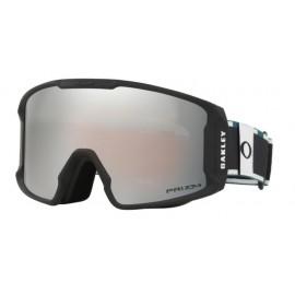 Mascara esquí Oakley Line Miner Xm railwork balsam black