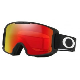 Mascara esquí Oakley Line Miner Youth negro mate prizm torch