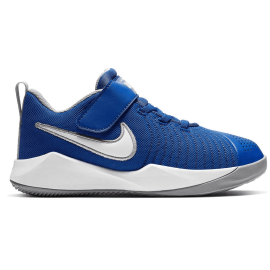 Zapatillas baloncesto Nike Team Hustle Quick 2 PS azul niño