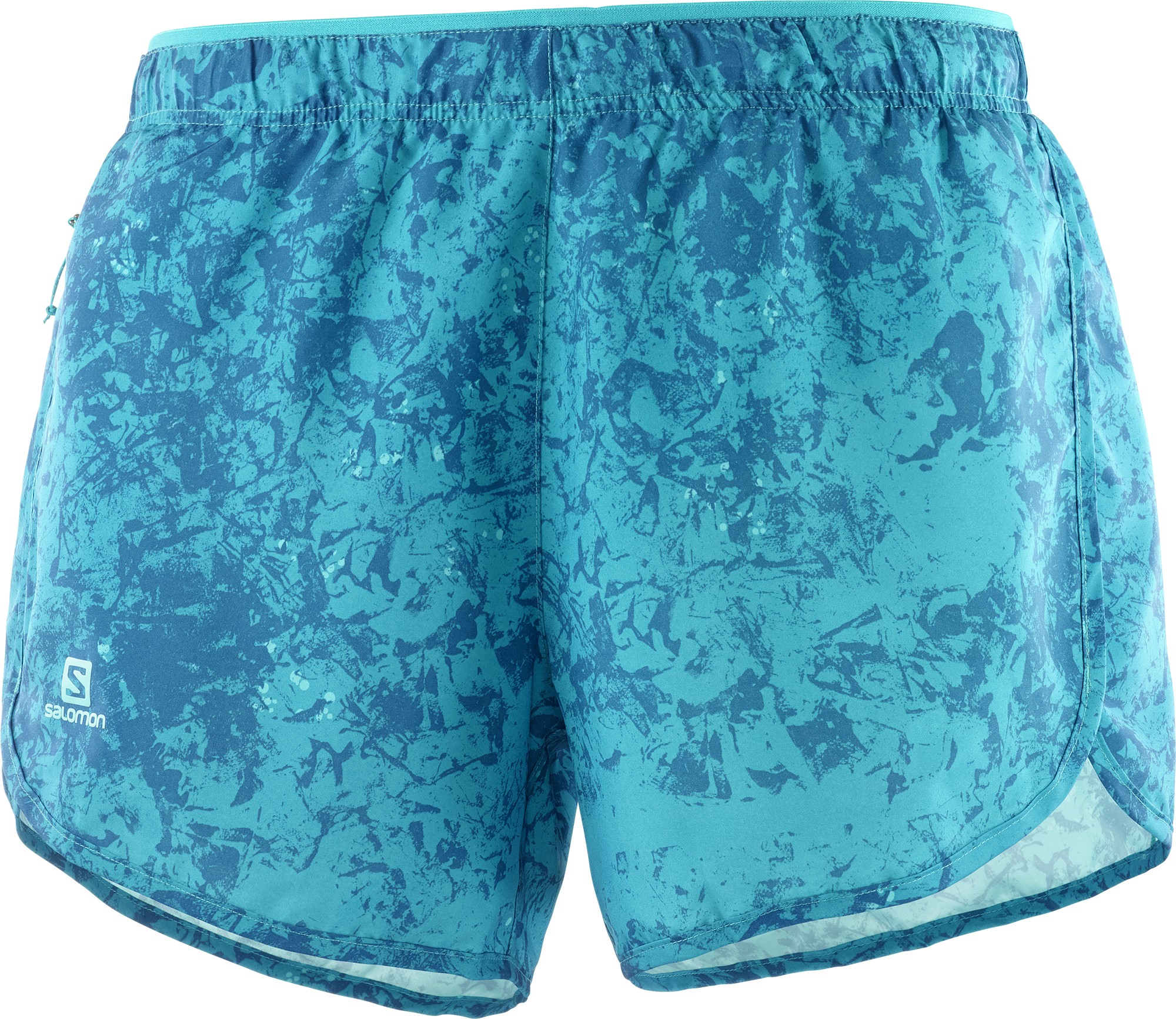 Salomon pantalón corto Agile Short W Azul mujer