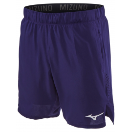 "Pantalón tenis/pádel Mizuno Amplify Short 8"" azul hombre"