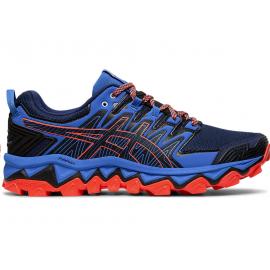 Zapatillas running Asics Gel FujiTrabuco 7 azul/rojo hombre