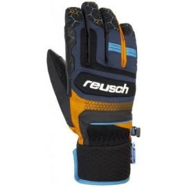Guantes esquí Reusch Stuart R-Tex azul naranja hombre