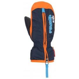 Manoplas esquí Reusch Ben Mitten azul naranja  bebe