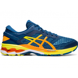 Zapatillas running Asics Gel-Kayano 26 azul/naranja hombre