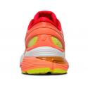 Zapatillas running Asics Gel-Nimbus 21 blanco/naranja mujer