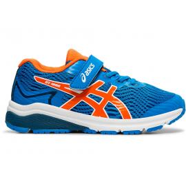 Zapatillas running Asics GT-1000 8 PS azul/naranja niño