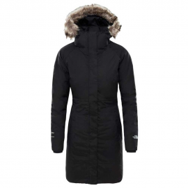Abrigo The North Face Artic parka negro mujer
