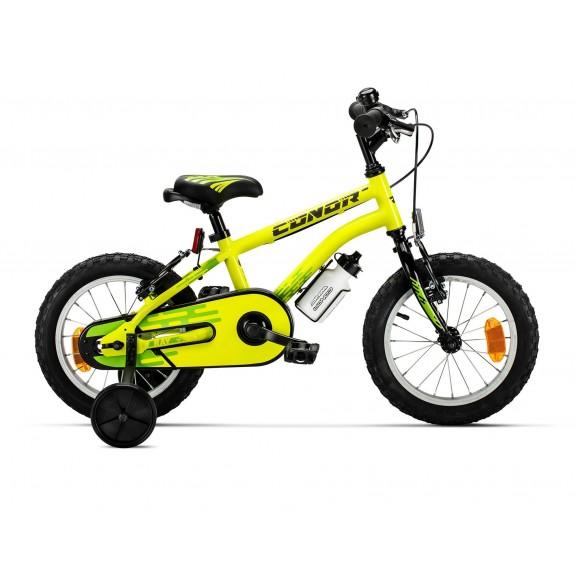 """Bicicleta Conor Ray 14"""" Amarillo"""