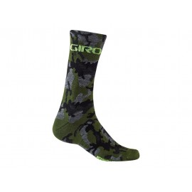 Calcetines altos Giro Seasonal merino Wool camo-highlight