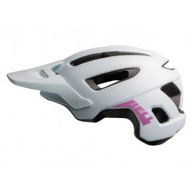 Casco Bell Nomad Junior blanco-lila niña