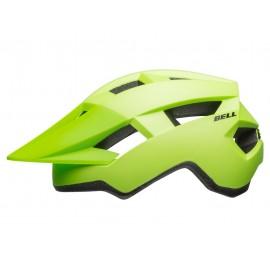 Casco Bell Spark Junior verde fluor-negro