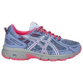 Zapatillas running Asics Gel-Venture 6 GS azul/rosa niña