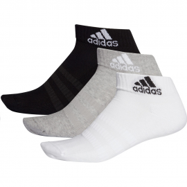 Calcetines adidas Cush Ank 3pk gris/blanco/negro