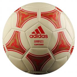 Balón fútbol adidas Conext19 Capitano blanco/rojo