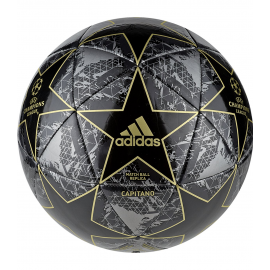 Balón fútbol adidas Finale 19 Capitano negro/dorado