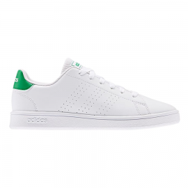 Zapatillas adidas Advantage K blanco/verde junior
