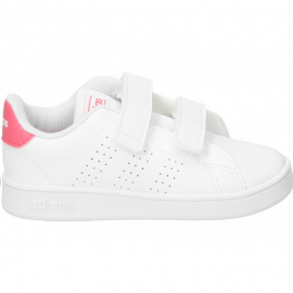 Zapatillas adidas Advantage I blanco/rosa bebé