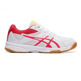 Zapatillas voley Asics Upcourt 3 GS blanco/rosa niña