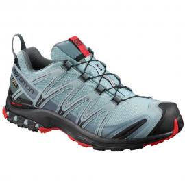 Zapatillas trail  Salomon Xa Pro 3D GTX negro/azul hombre