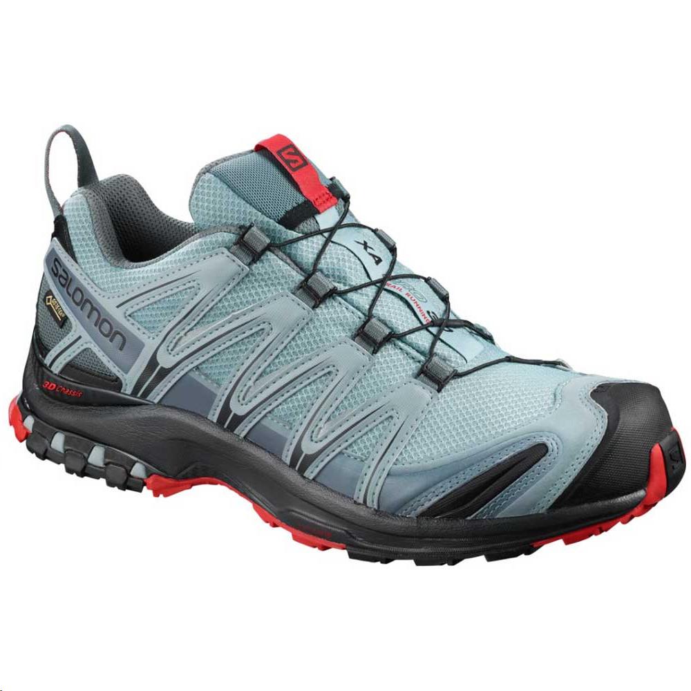 Zapatillas trail Salomon Xa Pro 3D GTX negro/azul hombre ...