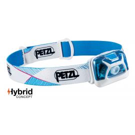 Frontal Petzl Tikka 300 lúmenes blanco/azul