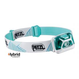 Frontal Petzl Tikkina 250 lúmenes blanco/verde