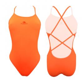 Bañador Turbo Natación sincronizada Sirene naranja mujer