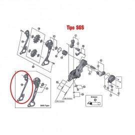 Portapoleas Shimano Interior Cambio M8000 GS