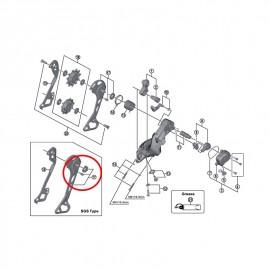 Portapoleas Shimano Exterior Cambio M8000 GS