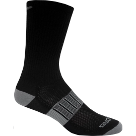 Calcetines running Brooks Ghost Midweight Crew 2pk negro