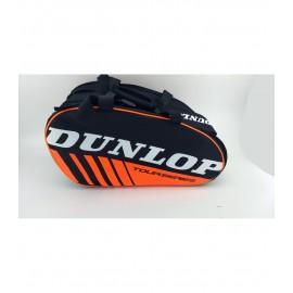 Paletero Dunlop Intro negro-naranja fluor