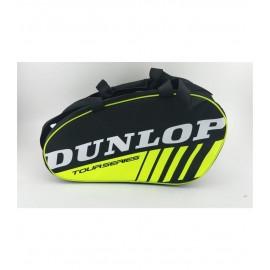 Paletero Dunlop Intro negro/amarillo fluor
