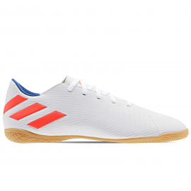 Zapatillas fútbol sala adidas Nemeziz Messi 19.4 IN blanco