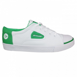 Zapatillas Dunlop Flash blanco/verde unisex
