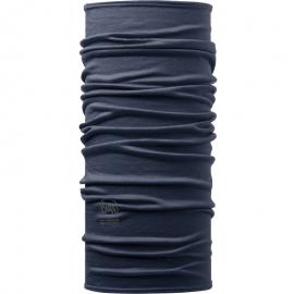 Cuello lana Merino Buff Lightweight Solid azul