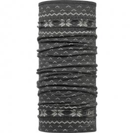 Cuello lana Merino Buff Lightweight Floki negro