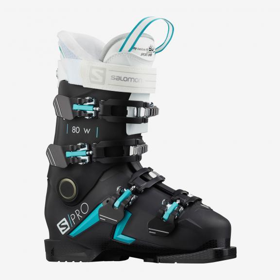 Botas esquí Salomon SPro 80 W negro mujer Deportes Moya