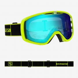 Mascara esquí Salomon Aksium Photo neon amarillo  unisex